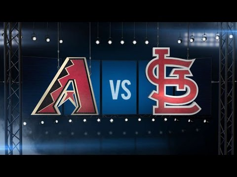 5/22/16: D-backs Start Fast To Cruise Past Cardinals