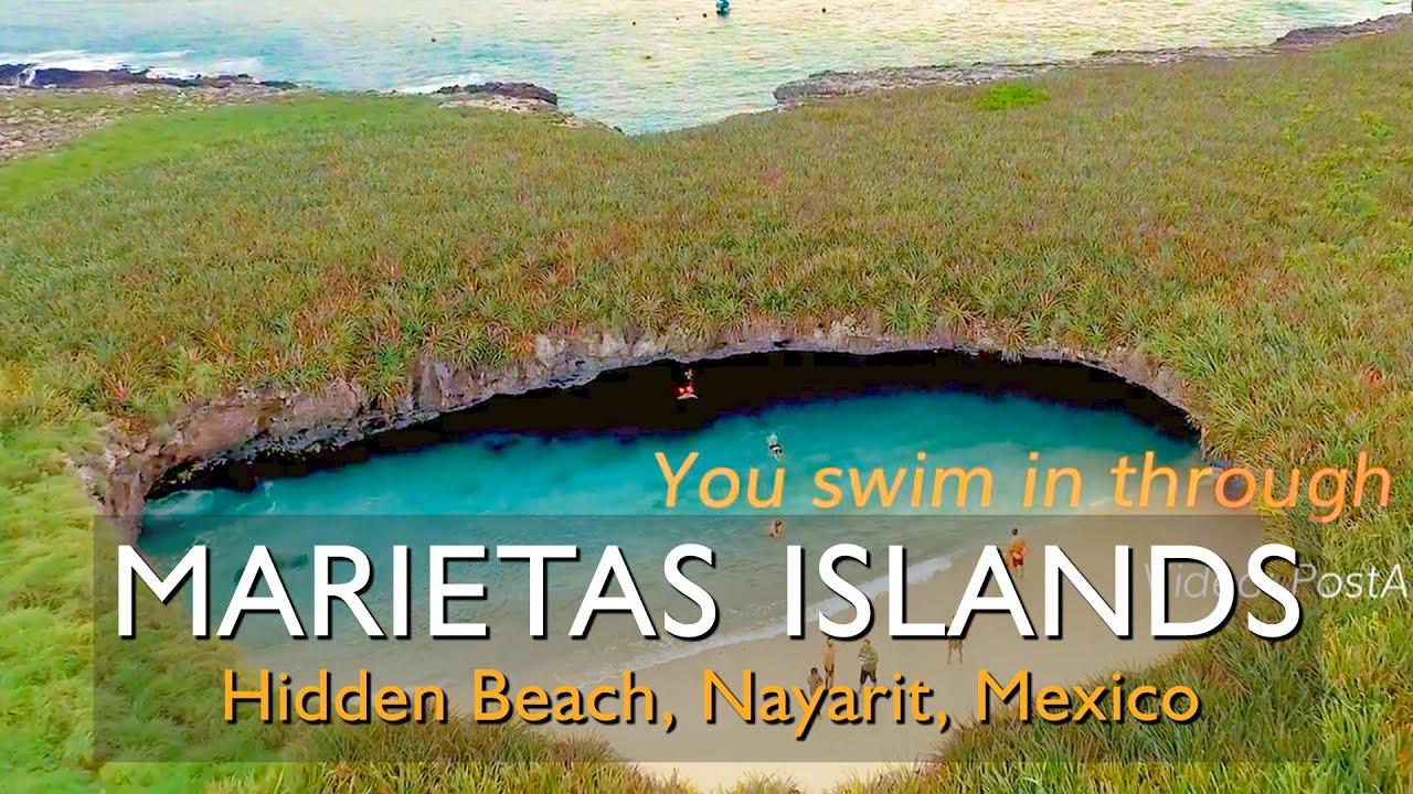 Impressive Beach Marietas Islands And The Hidden Close To Puerto Vallarta Jalisco Mexico