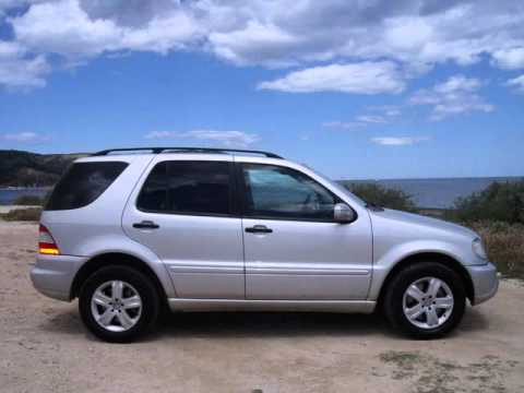 mercedes ml 270 cdi automatic 4x4 for sale in spain youtube. Black Bedroom Furniture Sets. Home Design Ideas