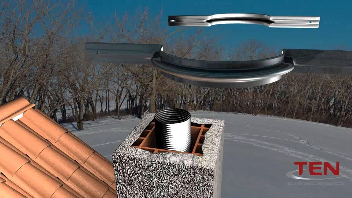 tuyau rigide emaille noir mat longueur 100 cm diametre 150 mm