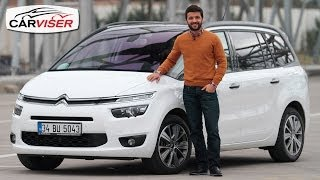 Citroen C4 Grand Picasso Test Sr Review English subtitled
