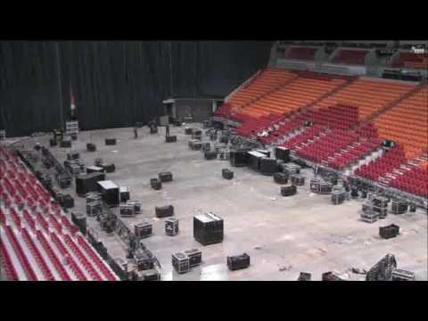 AmericanAirlines Arena Prepares for the Greatest Show on Earth