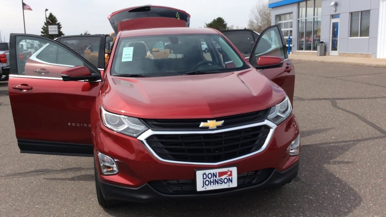 2018 chevrolet equinox awd lt cajun red h18001 youtube. Black Bedroom Furniture Sets. Home Design Ideas