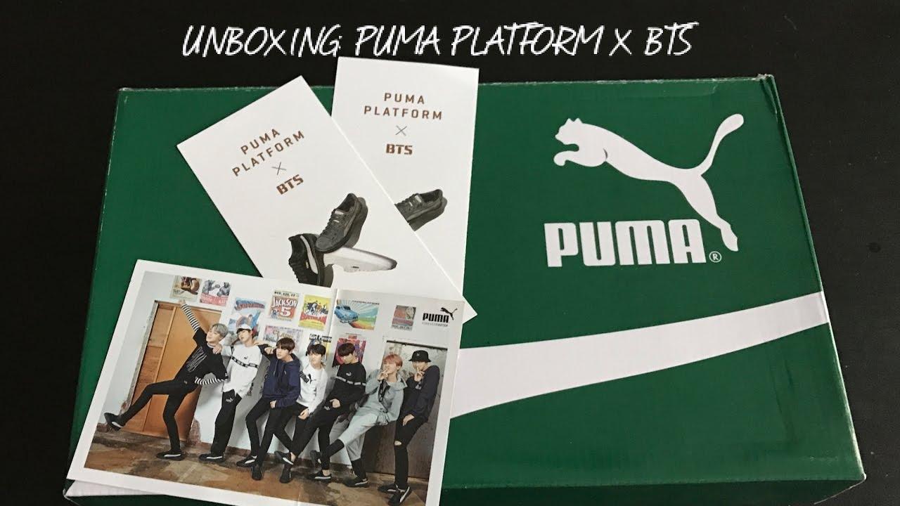 Youtube Bts UnboxingPuma Platform UnboxingPuma Platform X X dxWoreCB