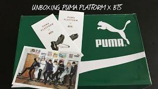 UNBOXING | PUMA PLATFORM X BTS
