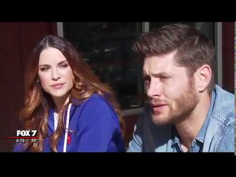 Jensen and Danneel Ackles   about the brewery
