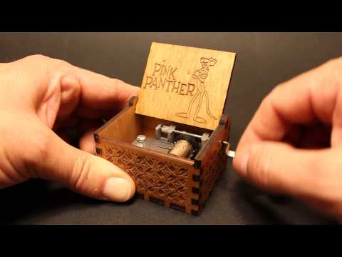 Pink Panther tune - Music box by Invenio Crafts