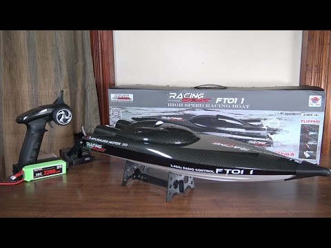 Feilun - FT011 Brushless High Speed Boat - Review and Run