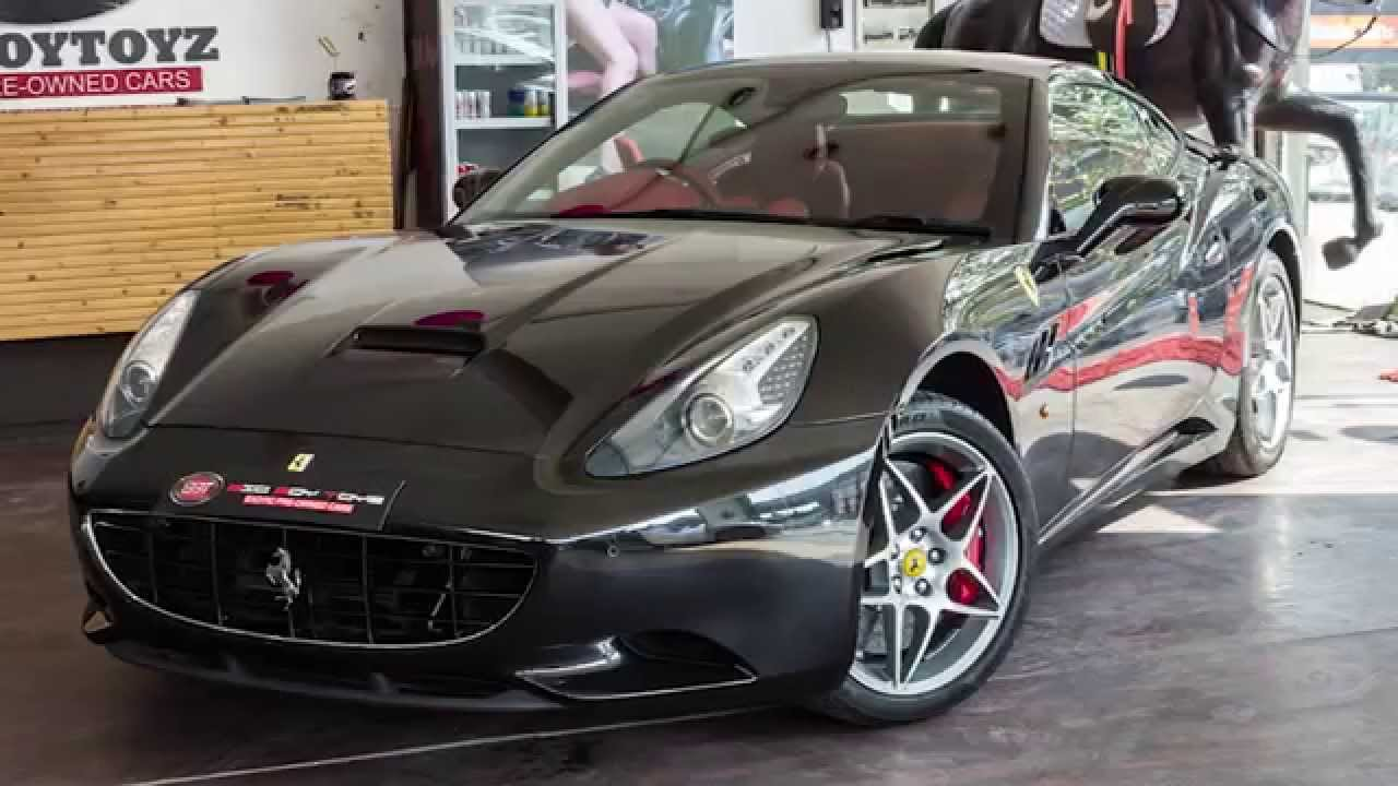 Captivating Ferrari California @ Big Boy Toyz