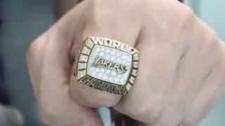 Los Angeles Lakers 2000 NBA Basketball Championship Ring | thechampionrings.com