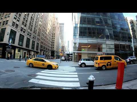 ⁴ᴷ⁶⁰ Walking Tour of NYC, Manhattan - Madison Avenue from Midtown to the Flatiron District