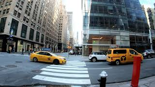⁴ᴷ⁶⁰ Walking Tour of NYC, Manhattan - Madison Avenue from Midtown to the Flatiron District