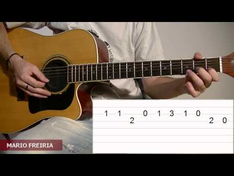 How To Play Dragon Ball GT Theme Song On Acoustic Guitar TCDG