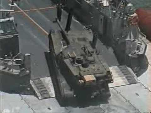 ACVLAP: Sealift Ships +  U.S. Army Tanks