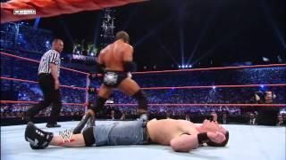 Randy Orton vs. John Cena vs. Triple H - WWE Championship Triple Threat Match: WrestleMania XXIV