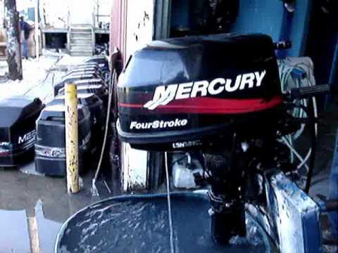 2002 Mercury 6hp 4 Stroke Outboard Motor For Sale On Ebay