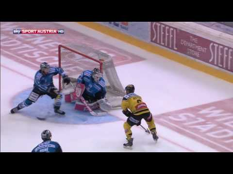 Erste Bank Eishockey Liga 16/17 - 1. Runde: Vienna Capitals - Black Wings Linz 4:3 n.O.