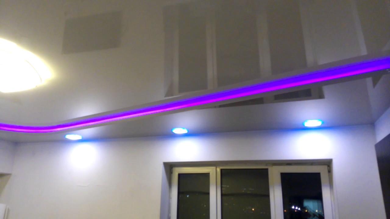 потолок в 2 уровня