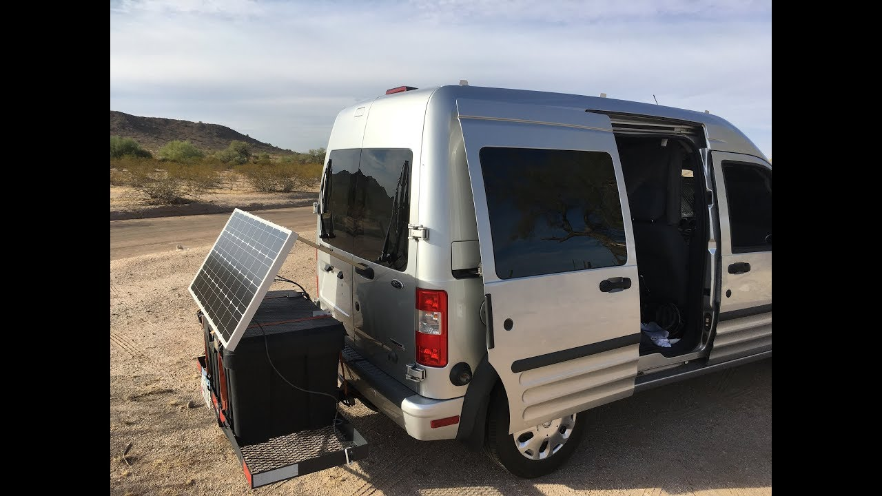 2010 Ford Transit Connect Diy Camper Van Conversion