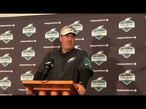 Doug Pederson gives update on Eagles' Carson Wentz