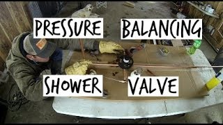 DIY Home Build: Shower Valve And Nail Plates (Pressure Balancing)