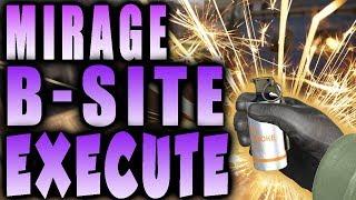 CS:GO - HOW TO EXECUTE B-SITE MIRAGE