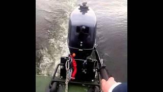 3 час обкатки лодочного мотора Jet! Marine T2.6
