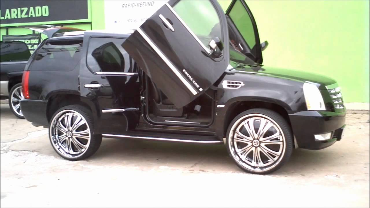 Dub Escalade 28 Quot Dub Spinners Youtube