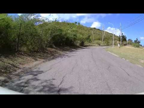 Driving in Antigua - Airport to Five Islands