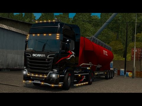 ETS2 MP - [RO] Global Convoy From Milano To Erfurt
