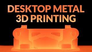 Desktop Metal | Affordable Metal 3D Printing For The Office