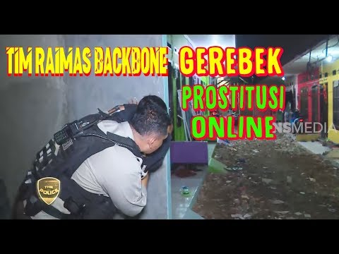 Tim Raimas Backbone Gerebek Prostitusi Online | THE POLICE  (17/01/20) Part 2