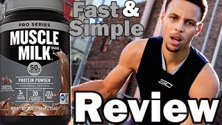 Muscle Milk: Pro Series Protein Review