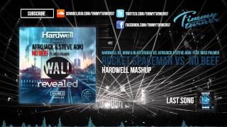 Hardwell vs. W&W & Blasterjaxx vs. Miss Palmer - Rocket Spaceman vs. No Beef (Hardwell Mashup)