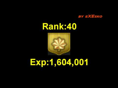 Blackshot Level and Rank Exp by Esko