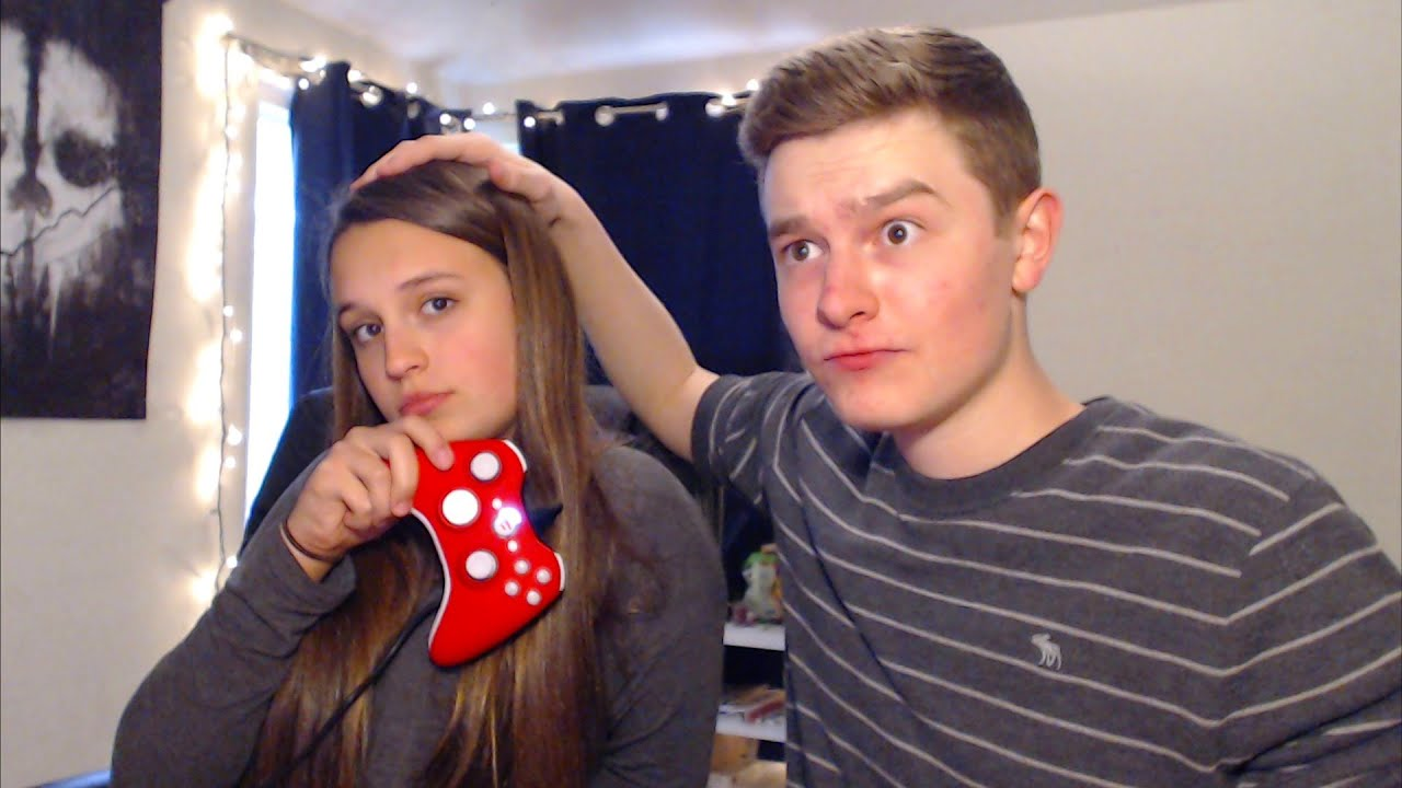 my little sister gets trickshotted!! - youtube