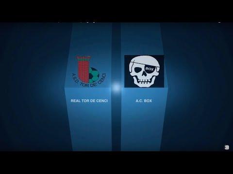 Real Tor De Cenci 0-3 A.C. Box | Serie B - 8ª | Highlights