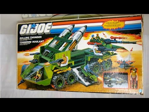 QUICK LOOK at 1988 GI Joe Rolling Thunder & Armadillo
