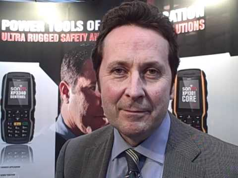 I4S video: Sonim's Vince Galvin on the Lone Worker Pavilion at IFSEC International 2012