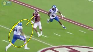Film Study: 14 plays, Mississippi State vs Kentucky | 2017