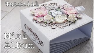 Tutorial: How to decorate a Mini Album