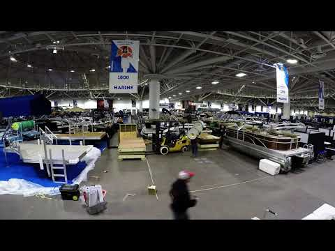 Northwest Sport Show Setup 2017 River Valley Power and Sport