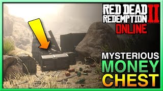 Red Dead Redemption 2 Online Treasure MYSTERIOUS MONEY CHEST - RDR2 Online Treasure Red Dead Online