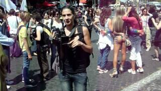 Travestiti e trans al gay pride di Roma 2011 : video youtube