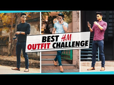 BEST H&M OUTFIT Challenge for INDIAN MEN | Men's Fashion Haul | EPIC Shirt and Pant COMBINATIONS