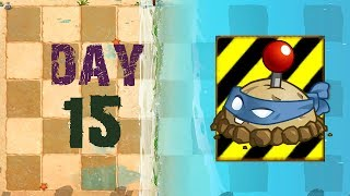 [Android] Plants vs. Zombies 2 - Big Wave Beach Day 15