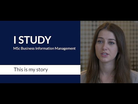 A student on the RSM MSc in Business Information Management programme