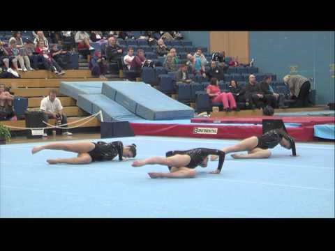South Staffs - International 1 WG - GB Acro Tournament GOLD