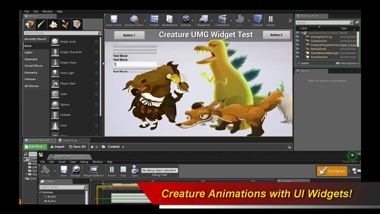 Creature ue4 umg ui animated widgets youtube creature ue4 umg ui animated widgets malvernweather Images