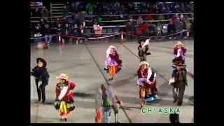 Fiesta de la corrida de cintas 3 grado de primaria (Profesor d e danza Marcos Guzman)